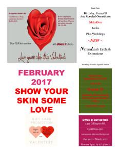 Valentine Day Flyer 2017