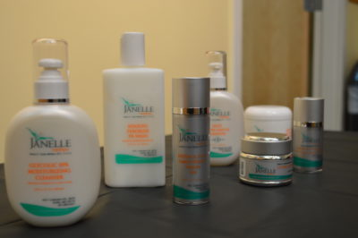 Aesthetic Dermatology, Janelle Medi Spa skin care line